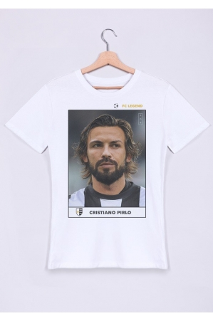 Cristiano Pirlo T-shirt Homme Col Rond