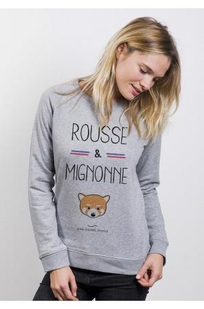 Rousse et Mignonne - Sweat femme