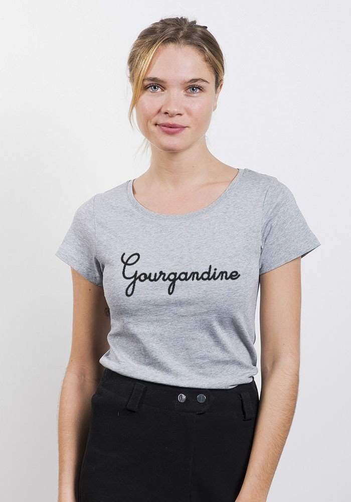 Gourgandine T-shirt femme col rond