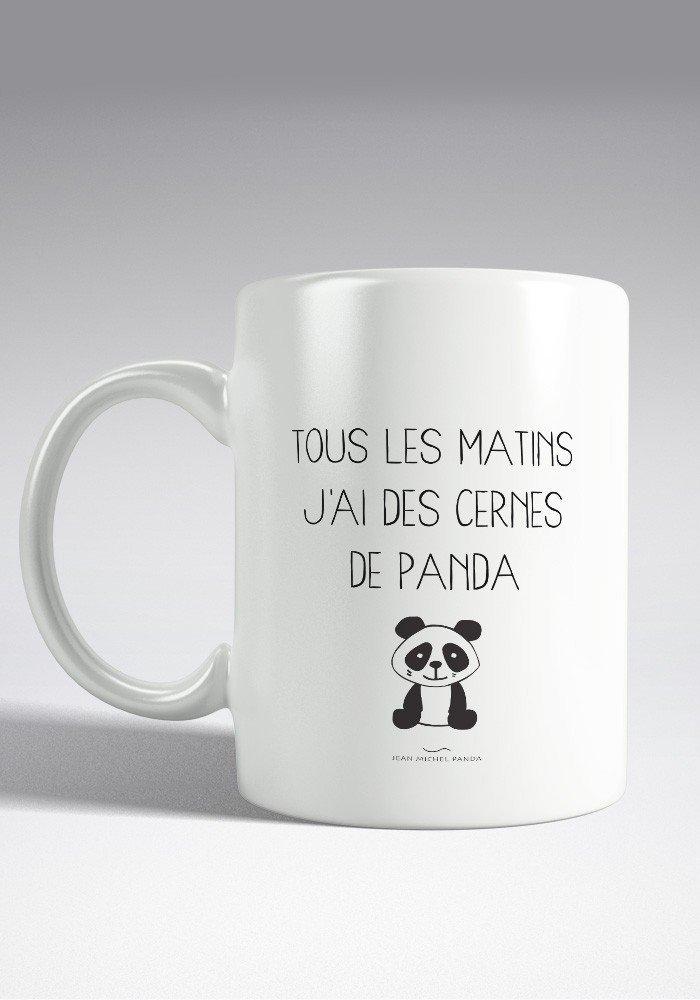 Cernes de Panda Mug