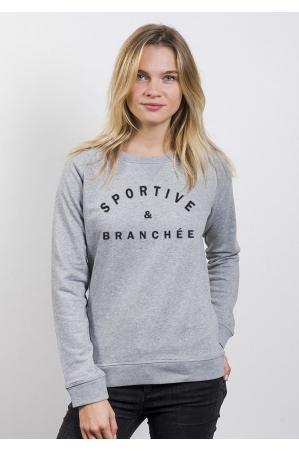 Sportive & Branchée - Sweat Femme
