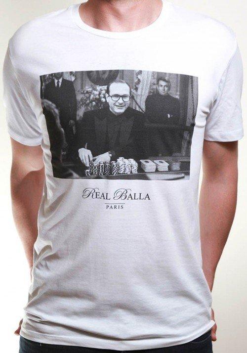 Chirac Casino T-shirt Homme