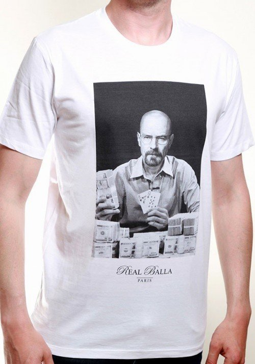 Heisenberg T-shirt Homme Col Rond