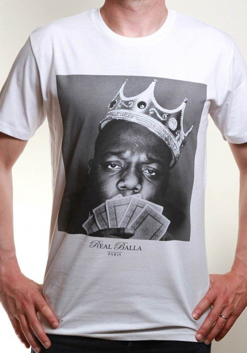 Biggie T-shirt Homme Col Rond