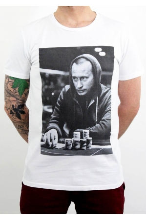 Gambling Poutine T-shirt Homme Col Rond
