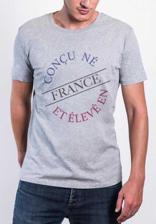 Tshirt homme Origine France