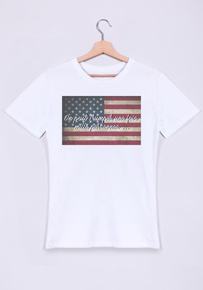 On Trumper une fois ...T-shirt Homme