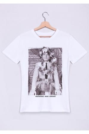 T-shirt Homme Col rond Mururoa