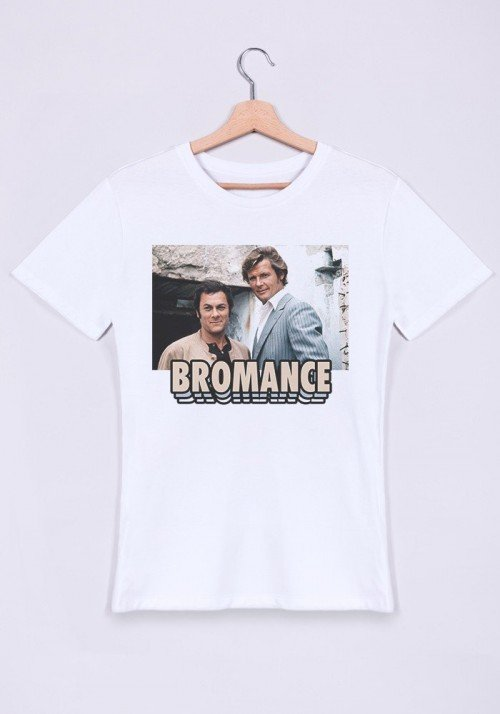 Bromance T-shirt Homme Col Rond