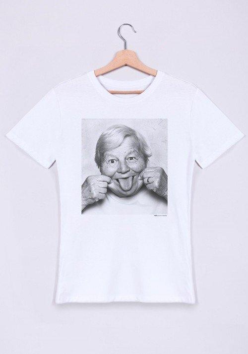 Yvette T-shirt Homme Col V