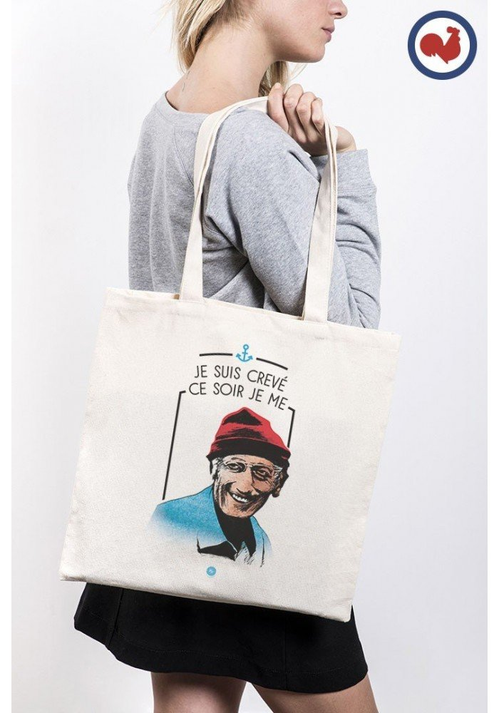 Cousteau Tote Bag Made in France