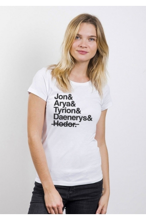 GAME OF SPOIL T-shirt femme col rond
