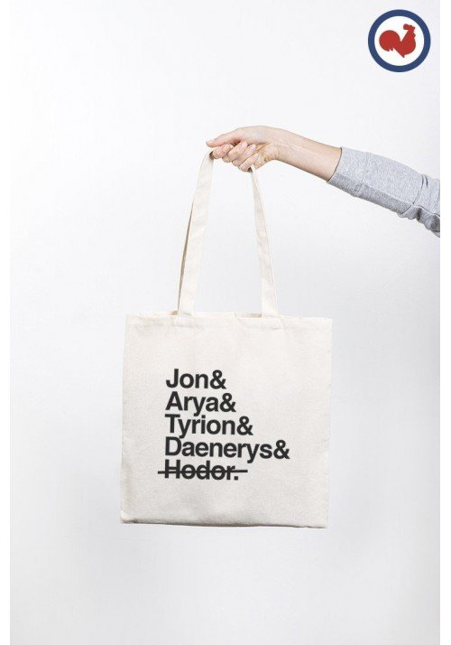GAME OF SPOIL - Tote Bag Made in France