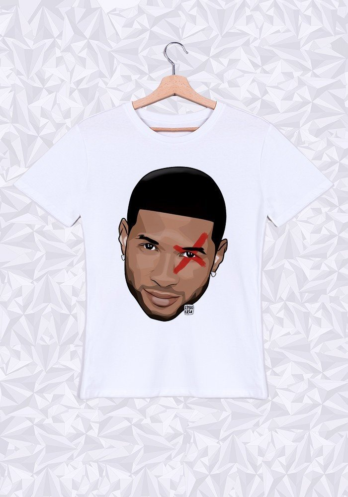 Tshirts Homme Usher Head