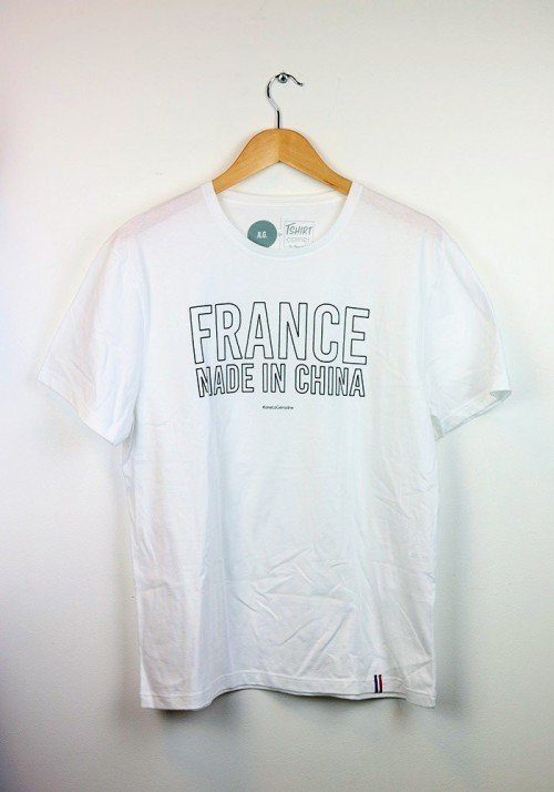 France Made in China T-shirt Made in France
