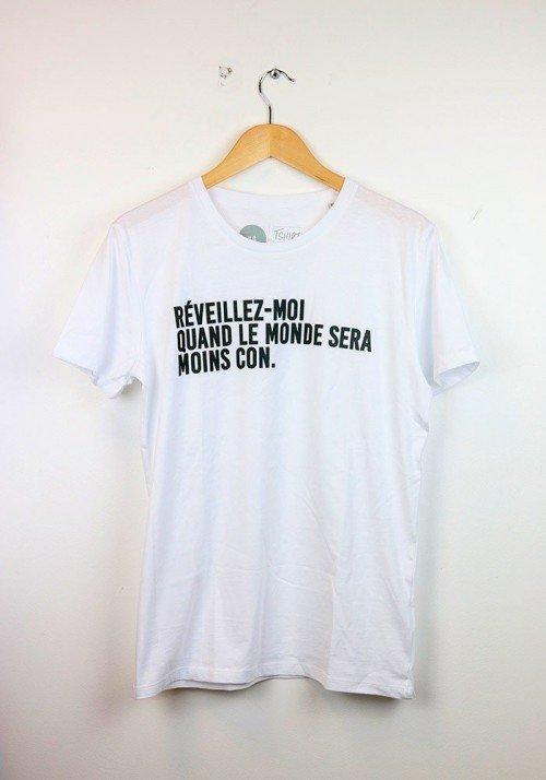 Réveillez moi quand le monde ... T-shirt Homme
