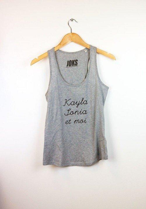 Kayla was not built in a Day Débardeur Femme