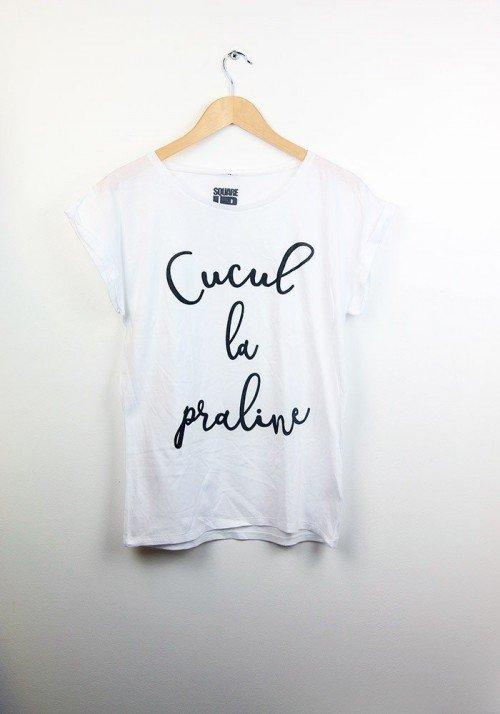 Culcul la Praline - Square Up - T-shirt Femme Manches Roulées