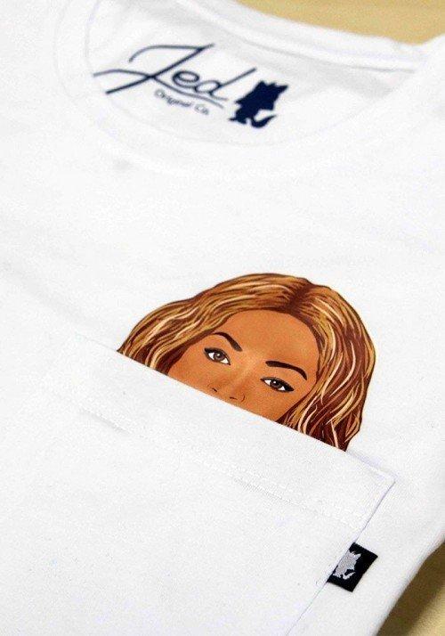 Queen T-shirt à Poche