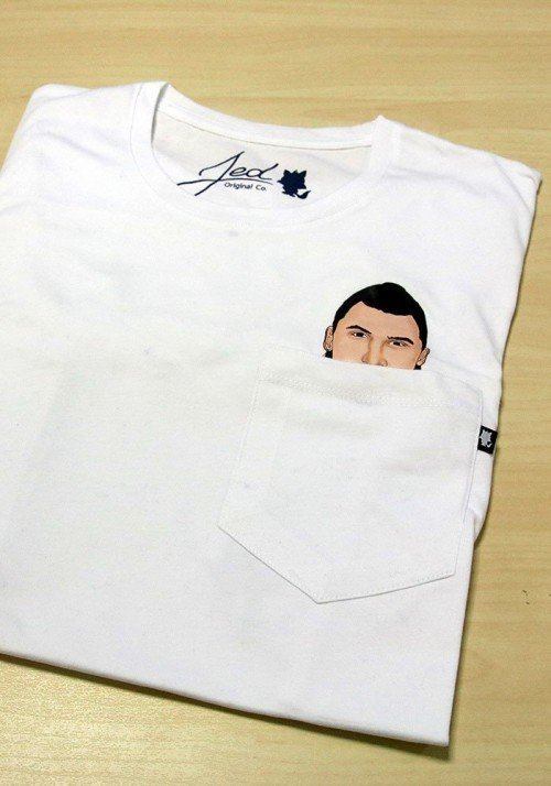 I am Z.I. T-shirt à Poche
