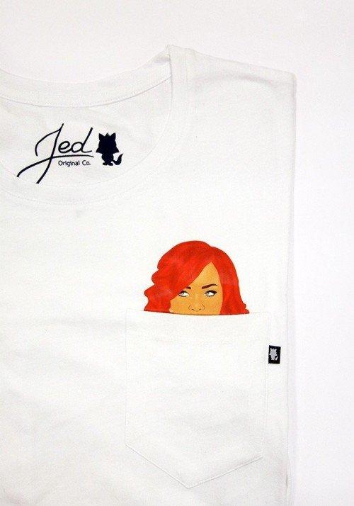 Redhair T-shirt à Poche