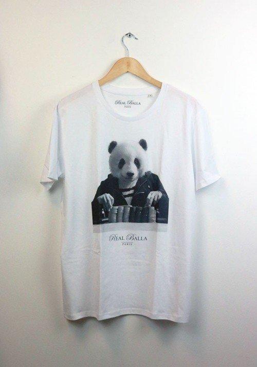 Gambling Panda - Real Balla - T-shirt Homme Col Rond