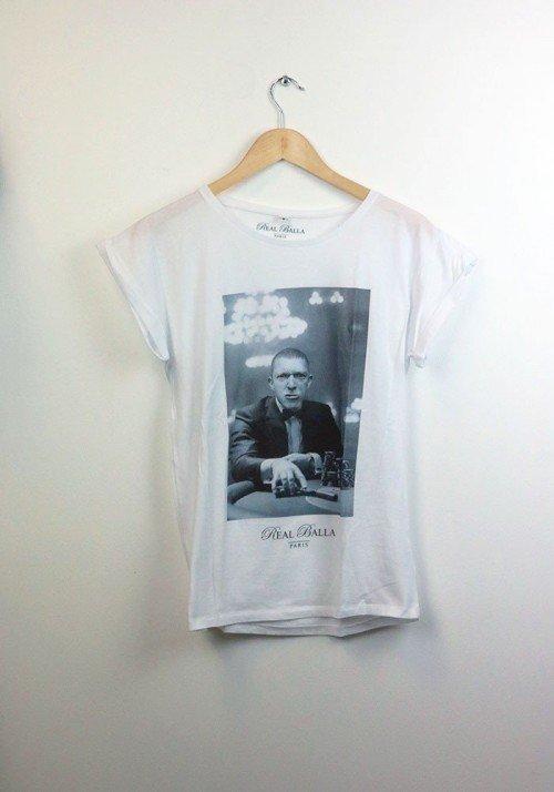 La Haine - Real Balla - T-shirt Femme Manches Retroussées