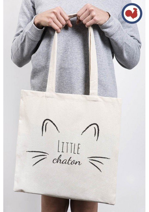 Little Chaton - Totebag Made In France