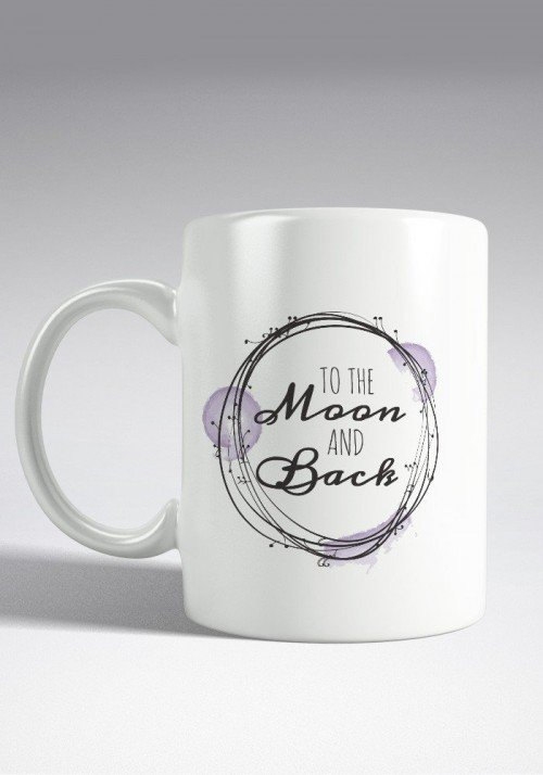 To the Moon and Back - Mug