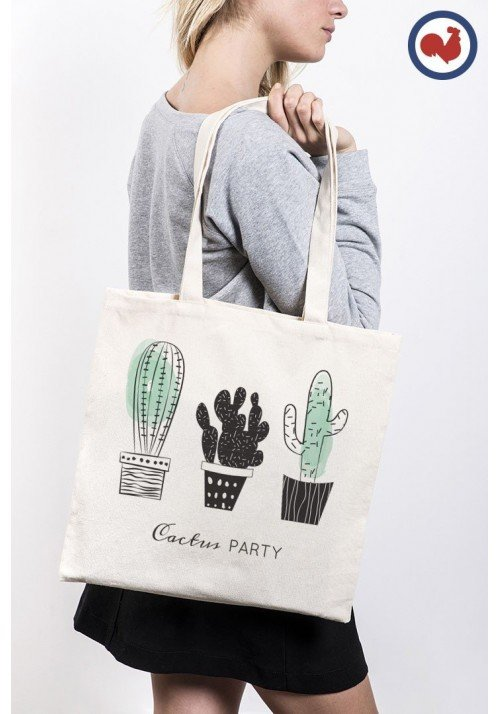 Cactus - Totebag Made In France