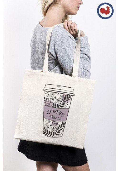 Coffee Please - Totebag Made In France
