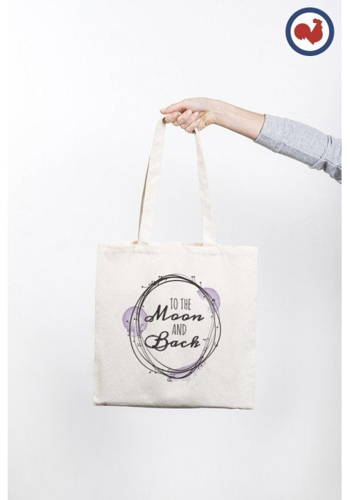 Moon and Back - Totebag Made In France