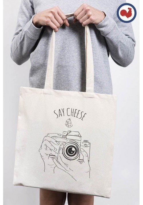 Say Cheese - Totebag Made In France