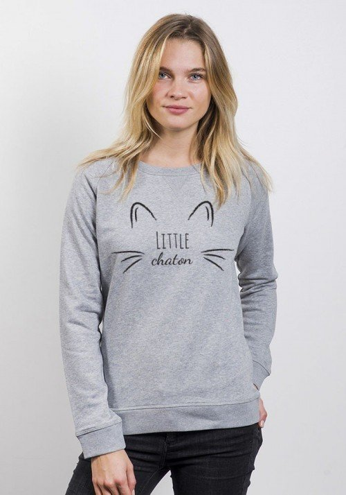 Little Chaton - Sweat Femme