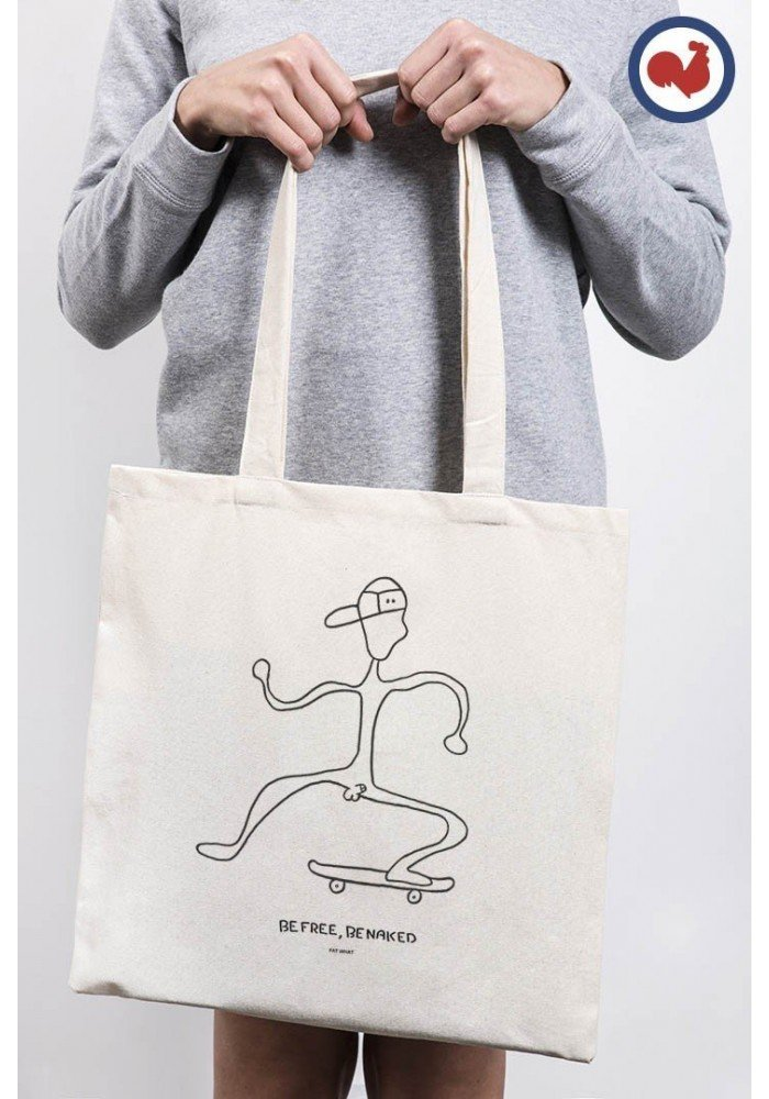 Tote Bag Be Free Skate