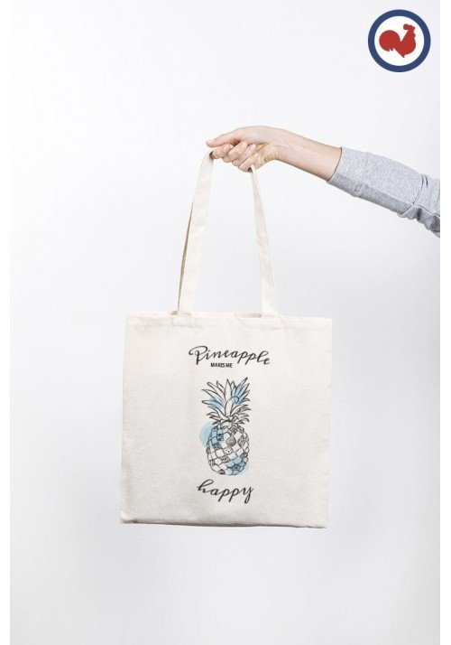 Ananas - Totebag Made In France