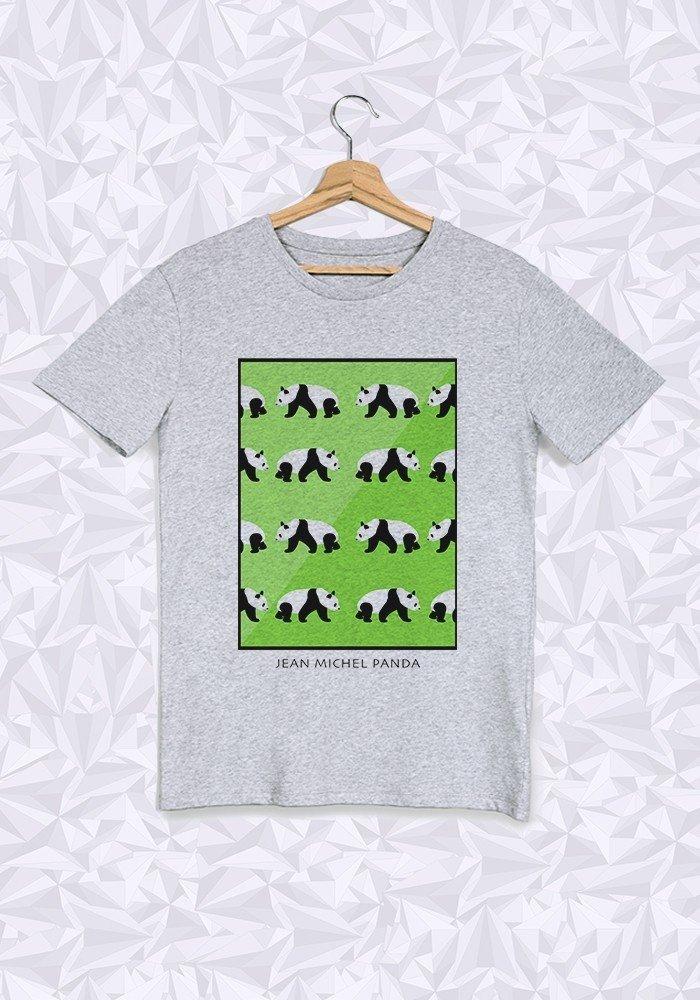 Tshirts Homme Panda Vert