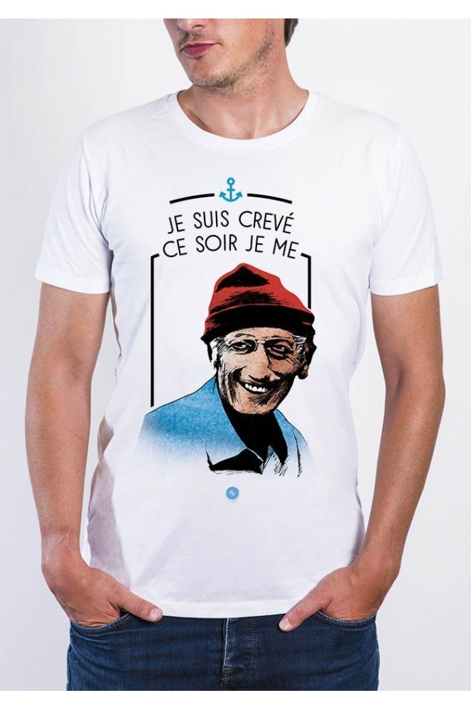 T-Shirt col rond Homme Cousteau - KidKult