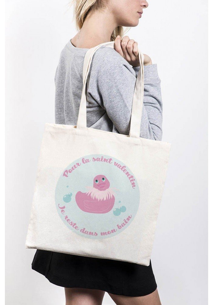 Saint Valentin Bain - Tote Bag Made in France