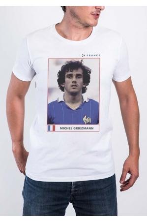 Michel Griezmann T-shirt Homme Col Rond