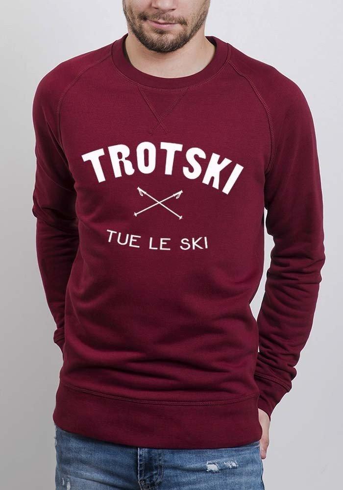 Trotski tue le ski - Styley - Sweat Homme