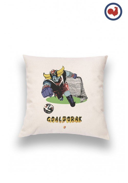 Goaldorak - Coussin Made in France Bio