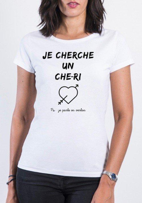 Je cherche un Che-Ri T-shirt Femme Col Rond
