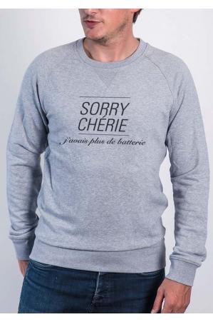 Promis Sorry Chérie - Sweat Hommes