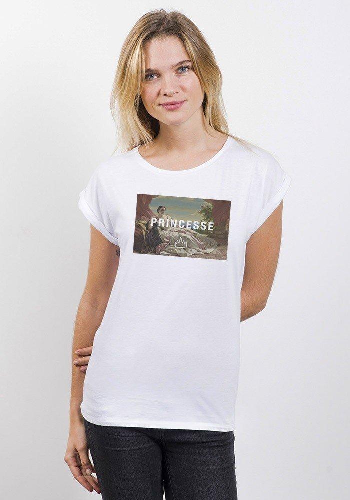 princesse T-shirt Femme Manches retroussées