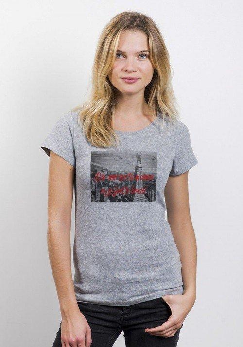 Dis moi que tu m'aimes T-shirt Femme Col Rond