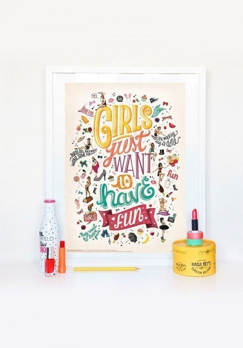Girls just want to have fun - Affiche de Draw me a Song