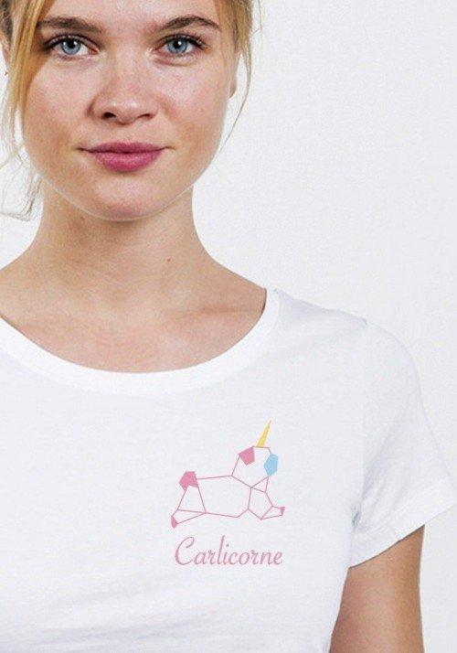 Carlicorne - Tshirt Femme Col rond