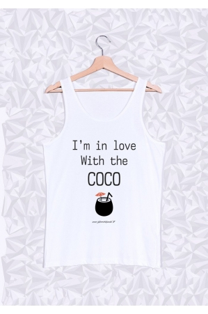 Im in love With The Coco Débardeur Homme