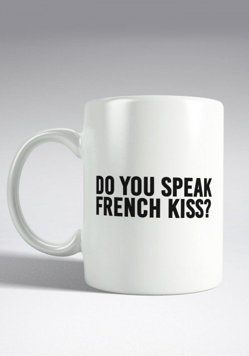 Do you speak French Kiss - Mug